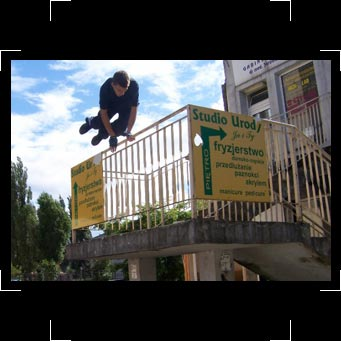 Worldwide Jam introduces the parkour photography of Damian Skotske - to see more parkour and freerunning pics from around the world - click here