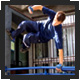 Click here for Parkour and free running photo portfolio from Damien Skotske