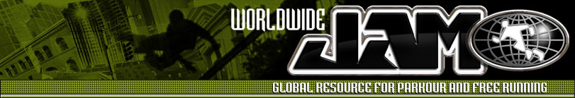 This is the website of Worldwide Jam. The global resource for parkour and freerunning. Photographs, videos and parkour news from around the world. Click here for the Worldwidejam main page