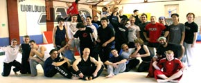 Worldwide jam parkour workshops