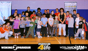 Link to Parkour Workshop Session 2