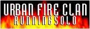 Banner and link to the parkour and freerunning website of the urban fire clan